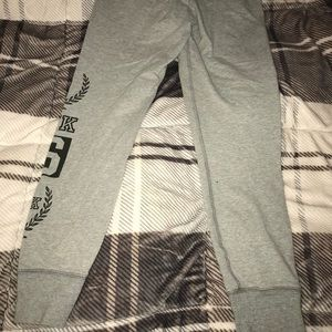 Pink Victoria's Secret yoga sweats